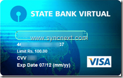 final virtual debit card